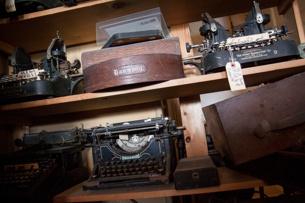 more typewriters